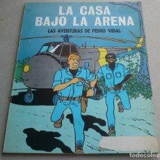 Tebeos: LAS AVENTURAS DE PEDRO VIDAL - LA CASA BAJO LA ARENA - CARBÓ Y MADORELL - OIKOS-TAU - 1969. Lote 84655124