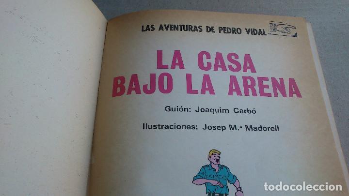 Tebeos: LAS AVENTURAS DE PEDRO VIDAL - LA CASA BAJO LA ARENA - CARBÓ Y MADORELL - OIKOS-TAU - 1969 - Foto 3 - 84655124