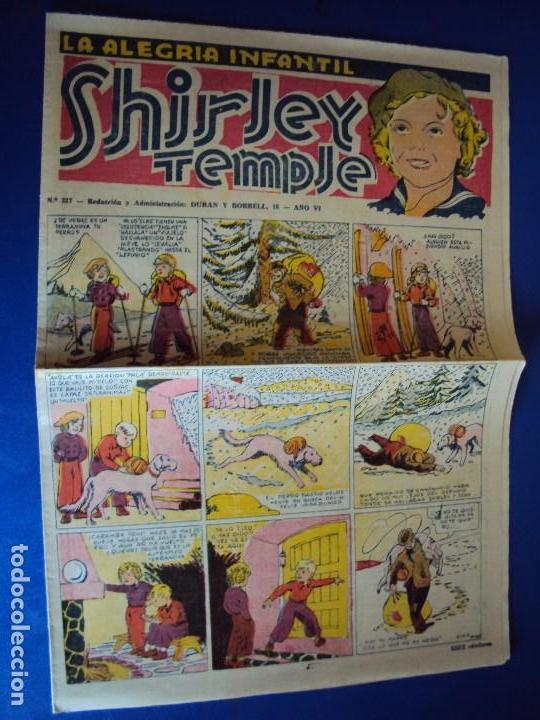 (COM-27)LA ALEGRIA INFANTIL CON SHIRLEY TEMPLE EDIT. EL GATO NEGRO. (Tebeos y Comics - Tebeos Clásicos (Hasta 1.939))