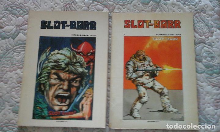 SLOT BARR I Y II, DE BARREIRO Y SOLANO LOPEZ (EDICIONES B.O.) (Tebeos y Comics - Tebeos Otras Editoriales Clásicas)
