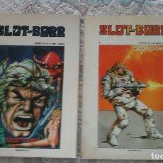 Tebeos: SLOT BARR I Y II, DE BARREIRO Y SOLANO LOPEZ (EDICIONES B.O.). Lote 85891812