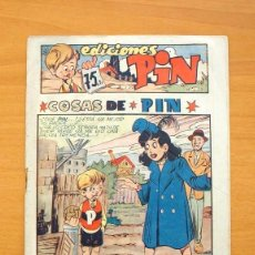 Tebeos: EDICIONES PIN - Nº 2 COSAS DE PIN - EDITORIAL BERGIS MUNDIAL 1946. Lote 86821260