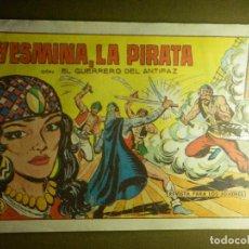 Tebeos: COMIC - TEBEO - EL GUERRERO DEL ANTIFAZ - YESMINA, LA PIRATA - Nº 535 -VALENCIANA - 1958. Lote 87050972