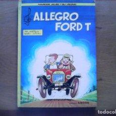 Tebeos: MARCOS JALEO Y SU VECINO, ALLEGRO FORD T. Lote 87154368