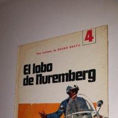 Tebeos: EL LOBO DE NUREMBERG - Nº 4 - BRUNO BRAZIL. -JAIMES LIBROS. Lote 87667508