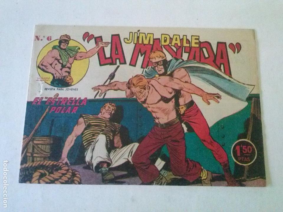 JIM DALE LA MASCARA Nº 6- CREO, ORIGINAL -POR ABRIR (Tebeos y Comics - Tebeos Otras Editoriales Clásicas)
