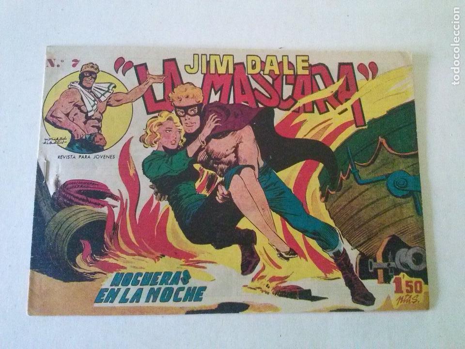 JIM DALE LA MASCARA Nº 7- CREO, ORIGINAL -POR ABRIR (Tebeos y Comics - Tebeos Otras Editoriales Clásicas)