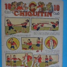 Tebeos: CHIQUITIN Nº 444 , MARCO , ORIGINAL , CL. Lote 88143808