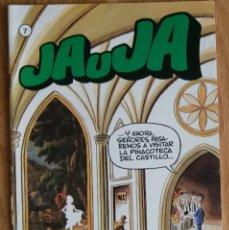 Tebeos: JAUJA Nº 7 ED. DRUIDA 1983 MUY BUEN ESTADO. Lote 88316916