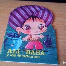 Tebeos: ALI-BABA Y LOS 40 LADRONES - CUENTO TROQUELADO - COLECCION BURBUJAS Nº9 - EDITORIAL FHER - 1973. Lote 89250776