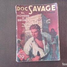 Tebeos: DOC SAVAGE EL HOMBRE DE BRONCE 1938. Lote 89665580