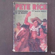 Tebeos: PETE RICE LA QUEBRADA DE LA MUERTE 1936. Lote 89665908