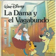 Tebeos: VE15- CUENTO DE 112 PAGS. LA DAMA Y EL VAGABUNDO DE WAL DISNEY. Lote 89737564