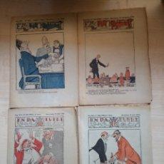 Tebeos: EN PATUFET. LOT DE 4 NÚMEROS: JUNY I NOVEMBRE DE 1919 I MARÇ I ABRIL DE 1920.. Lote 89917124