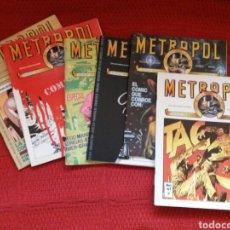 Tebeos: METROPOL -METRO CÓMICS-. Lote 90199826