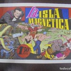 Tebeos: TEBEO. LA ISLA MAGNETICA CON MERLIN EL REY DE LA MAGIA. 1983. EDICION J.ESTEVE. Lote 90701175
