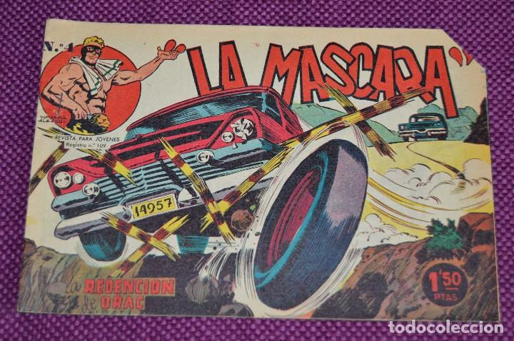 Tebeos: LOTE DE 3 NÚMEROS - JIM DALE - LA MASCARA - EDITORIAL CREO - ANTIGUO Y ORIGINAL - HAZME UNA OFERTA - Foto 2 - 90824920