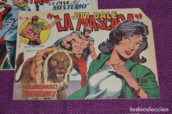 Tebeos: LOTE DE 3 NÚMEROS - JIM DALE - LA MASCARA - EDITORIAL CREO - ANTIGUO Y ORIGINAL - HAZME UNA OFERTA - Foto 3 - 90824920