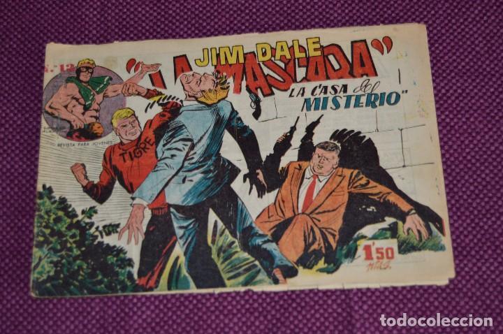 Tebeos: LOTE DE 3 NÚMEROS - JIM DALE - LA MASCARA - EDITORIAL CREO - ANTIGUO Y ORIGINAL - HAZME UNA OFERTA - Foto 4 - 90824920
