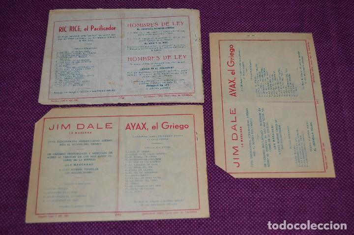 Tebeos: LOTE DE 3 NÚMEROS - JIM DALE - LA MASCARA - EDITORIAL CREO - ANTIGUO Y ORIGINAL - HAZME UNA OFERTA - Foto 5 - 90824920