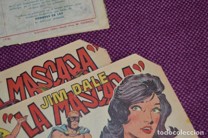 Tebeos: LOTE DE 3 NÚMEROS - JIM DALE - LA MASCARA - EDITORIAL CREO - ANTIGUO Y ORIGINAL - HAZME UNA OFERTA - Foto 6 - 90824920