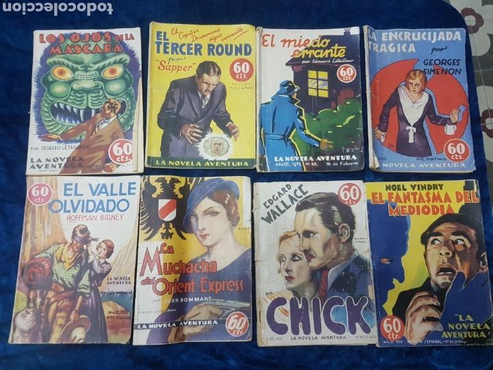 LA NOVELA AVENTURA AÑO III 1935 (Tebeos y Comics - Tebeos Clásicos (Hasta 1.939))