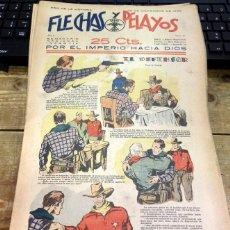 Tebeos: FLECHAS Y PELAYOS - AÑO II, NUMERO 51. Lote 91248395