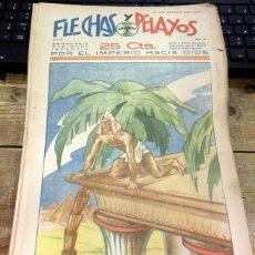 Tebeos: FLECHAS Y PELAYOS - AÑO III, NUMERO 59. Lote 91248540