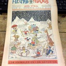 Tebeos: FLECHAS Y PELAYOS - AÑO III, NUMERO 60. Lote 91248580