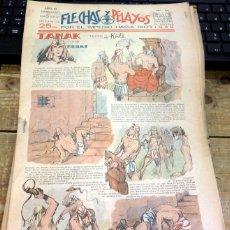 Tebeos: FLECHAS Y PELAYOS - AÑO III, NUMERO 64. Lote 91248630