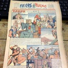 Tebeos: FLECHAS Y PELAYOS - AÑO III, NUMERO 77. Lote 91249010
