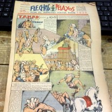 Tebeos: FLECHAS Y PELAYOS - AÑO III, NUMERO 78. Lote 91249065
