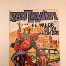 Tebeos: RED LAYTON Nº 2. EL VALOR DE UN HOMBRE. MAISAL 1980. Lote 91451590