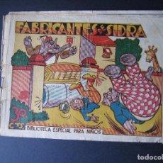 Tebeos: BIBLIOTECA ESPECIAL PARA NIÑOS Nº1 (1942 , EDITORIAL MARCO ). Lote 92200780