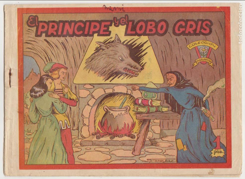 COLECCIÓN MARGARITA. FAVENCIA 1951. EL PRÍNCIPE Y EL LOBO GRIS. (Tebeos y Comics - Tebeos Otras Editoriales Clásicas)