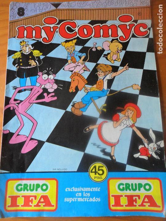 MY COMYC Nº 8 - CON: LOS DIMINUTOS, ALICIA EN EL PAIS DE LAS MARAVILLAS Y + - GRUPO IFA - (Tebeos y Comics - Tebeos Otras Editoriales Clásicas)