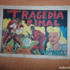 Tebeos: AVENTURAS DE TENNY BULL Nº 7 ULTIMO DE LA COLECCION EDITORIAL REALCE ORIGINAL . Lote 93709150
