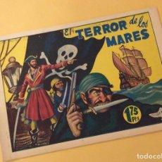 Tebeos: COLECCION PELICANO (MARISAL). EL TERROR DE LOS MARES. Lote 93774880