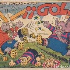 Tebeos: BIBLIOTECA ESPECIAL PARA NIÑOS. ¡GOL!. MARCO 1942. . Lote 94225805