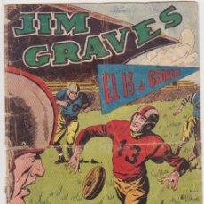Tebeos: JIM GRAVES Nº 27. TORAY 1954.. Lote 94516154
