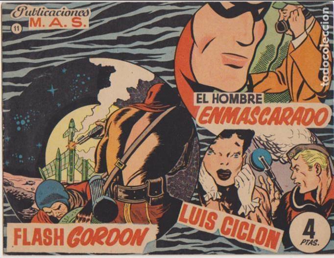 MAS Nº 11. PUBLICACIONES M.A.S. 1952. (Tebeos y Comics - Tebeos Otras Editoriales Clásicas)