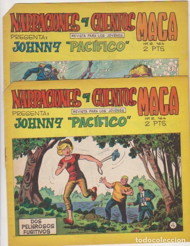 JOHNNY PACIFICO Nº 3 Y 4. MAGA 1965. (Tebeos y Comics - Tebeos Otras Editoriales Clásicas)