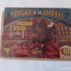 Tebeos: TIGRE DE LA INDIA Nº 5 ACROPOLIS ORIGINAL. Lote 95322863