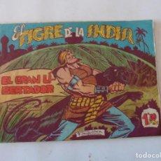 Tebeos: TIGRE DE LA INDIA Nº 10 ACROPOLIS ORIGINAL. Lote 95323059