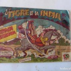Tebeos: TIGRE DE LA INDIA Nº 11 ACROPOLIS ORIGINAL. Lote 95323107