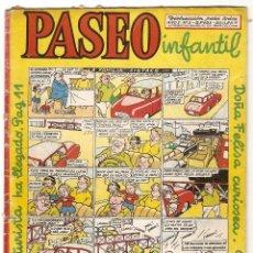 Tebeos: PASEO INFANTIL Nº 1 - GESTION 1956 - ORIGINAL- LEER ENVIOS. Lote 95389459