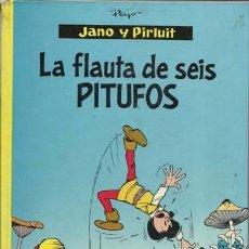 Tebeos: JANO Y PIRLUIT: LA FLAUTA DE SEIS PITUFOS, 1970, ARGOS, BUEN ESTADO.. Lote 95736863