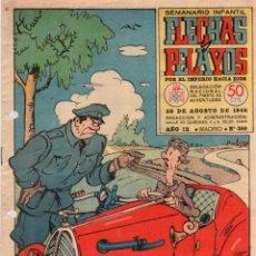 Tebeos: FLECHAS Y PELAYOS. Nº 399. 30 DE AGOSTO DE 1946. Lote 95807023