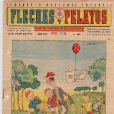 Tebeos: FLECHAS Y PELAYOS. Nº 346. 22 DE JULIO DE 1945. Lote 95807375