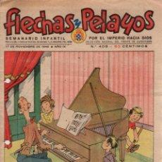 Tebeos: FLECHAS Y PELAYOS. Nº 409. 17 DE NOVIEMBRE DE 1946. Lote 95810967